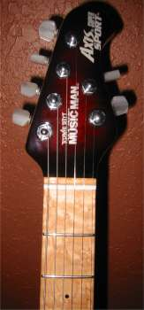 Axis Super Sport headstock